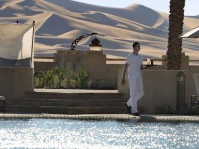 Abu Dhabi Qasr al Sarab desert resort