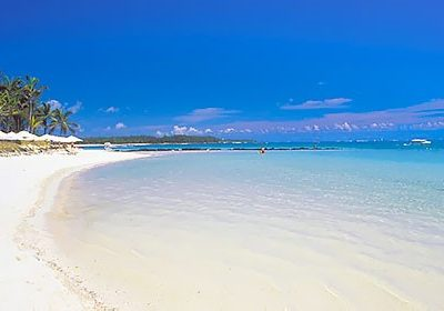 Mauritius wit strand